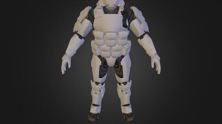 reach spartan 3D Model