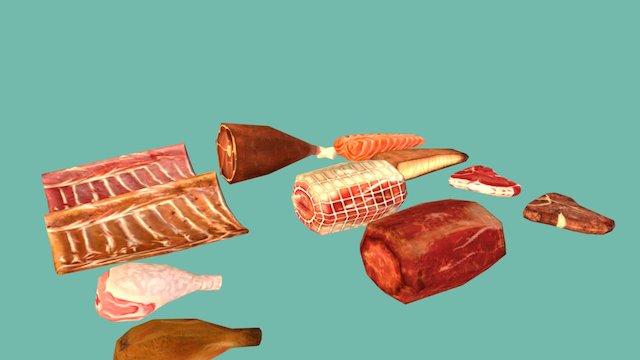 Food1 3D Model