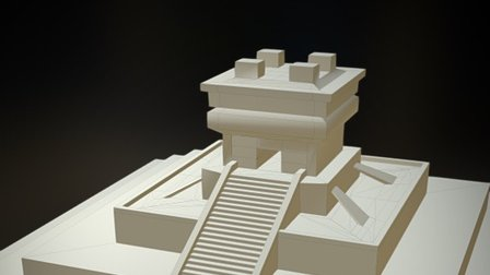 Temple Of Noob (ziggurat... kind of!) 3D Model