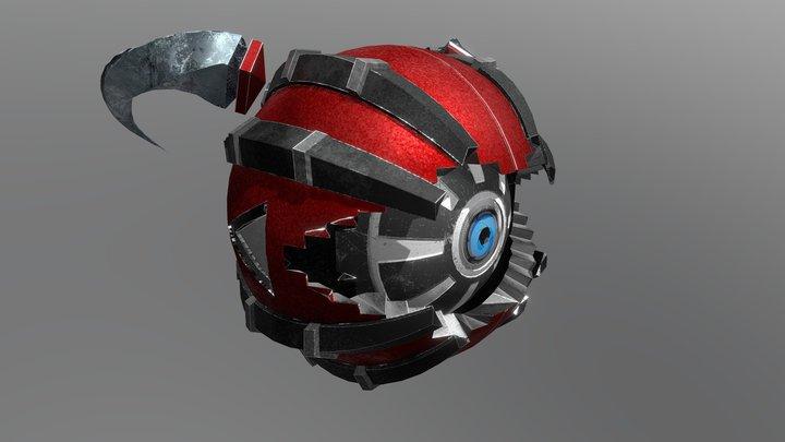 Dracobot 3D Model