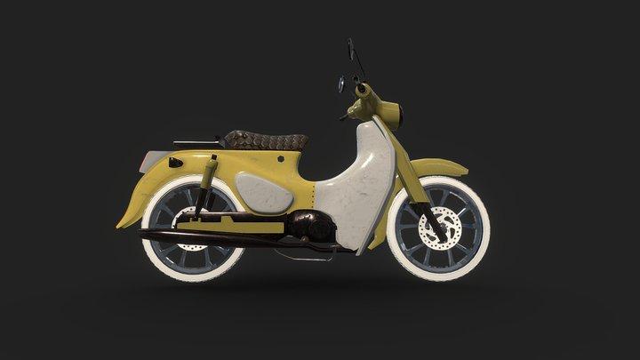 HONDA SUPER CUB 110 3D Model