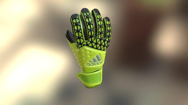 Goalkeeper gloves - Kapuskesztyű 3D Model