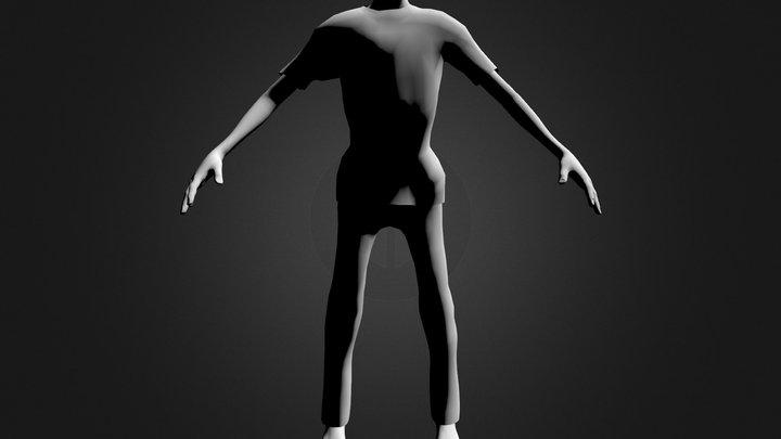 Zombie1 3D Model