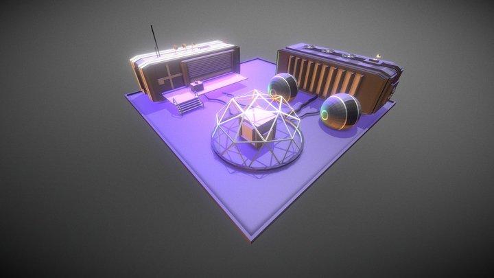 PowerStation 3D Model