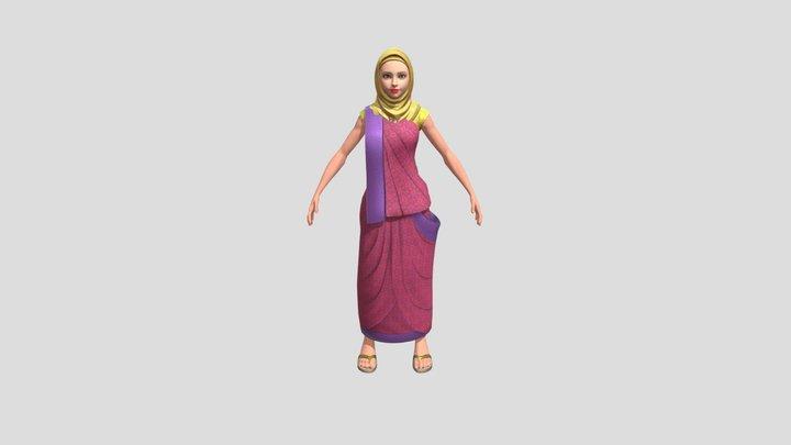 Sanvi the Magician 3D Model