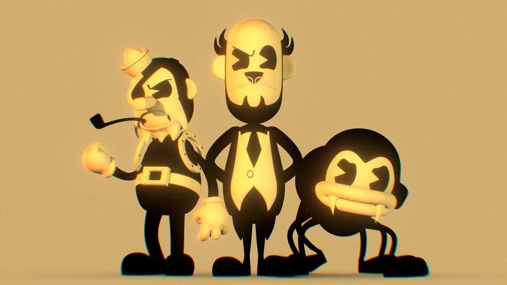 Lapis' Butcher Gang Pack 3D Model