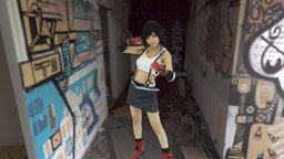 Tifa Lockhart Cosplay 3D Model