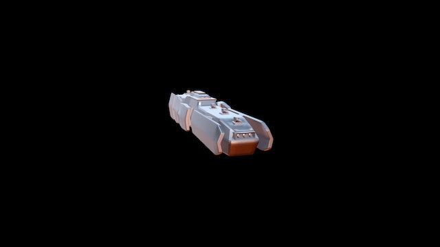 SCDF Destroyer 3D Model