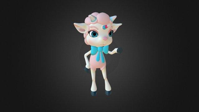 Miss Luna 3D Model
