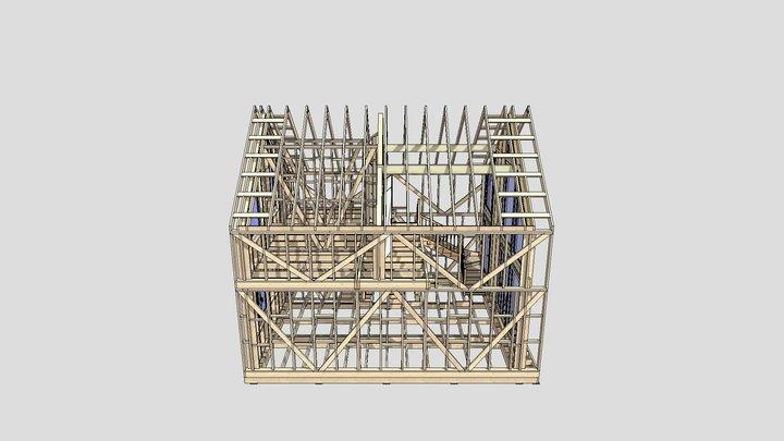 RAUM RYAZAN 1901 3D Model