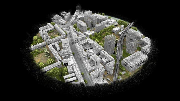 Dublin Green Retrofit 3D Model
