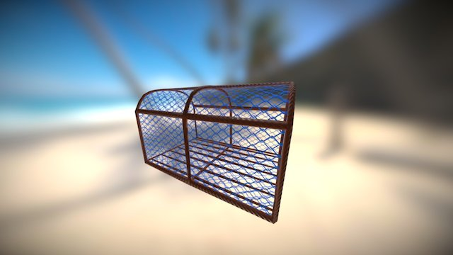 Lobster Pot 3D Model