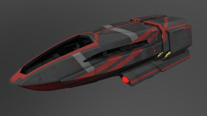 Class C Shuttlecraft (Star Trek Discovery) 3D Model