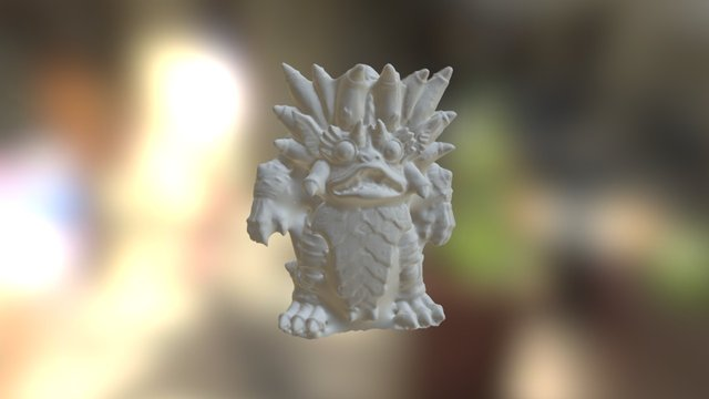 Monster Mesh - 3Digify Quick Test 3D Model