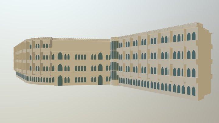 Hotel Curuba (Al-Uruba) 3D Model