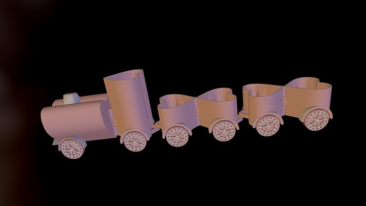 Love Train 3D Model