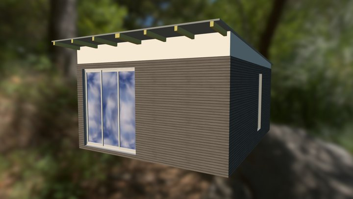 q-box 2 outside 1 3D Model