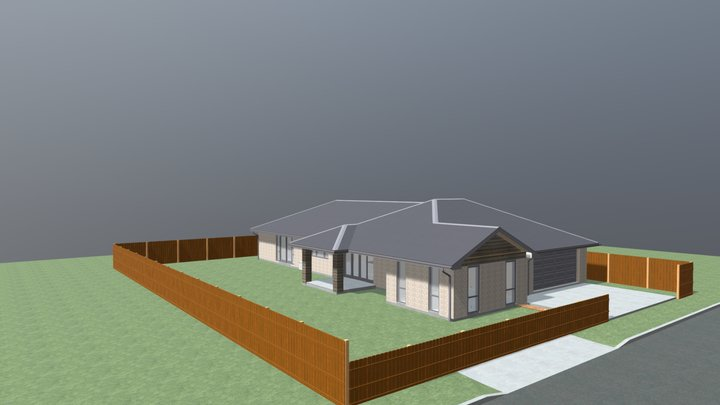 Proposed House for Ravenswood 3D Model