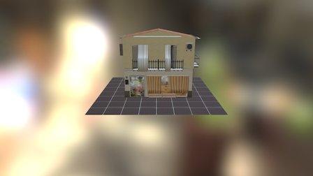 House Fruitshop 3D Model