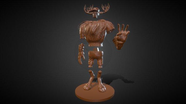 Monster Point 3D Model