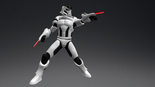 Heavy Stormtrooper Star Wars Reimagined contest 3D Model