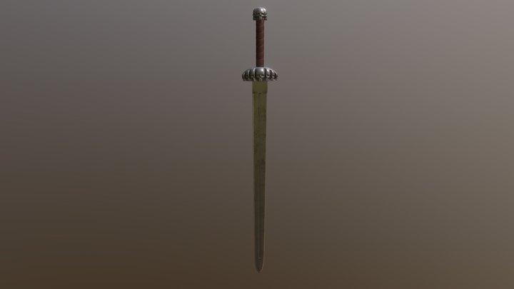 Ace of Skulls Sword 3D Model