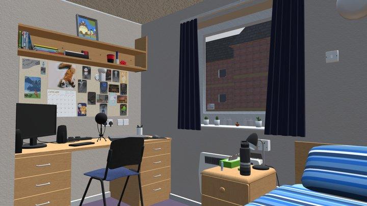 David Moxon Bedroom 3D Model