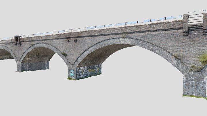 Foal Mead Viaduct, spans 7-10 3D Model
