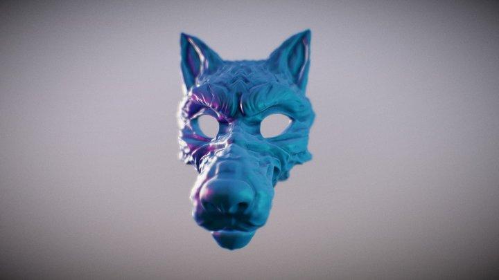SculptJanuary 2018 : Wolf Mask 3D Model