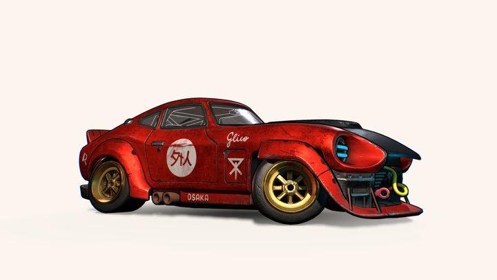 Gaijin - Datsun 240Z 3D Model