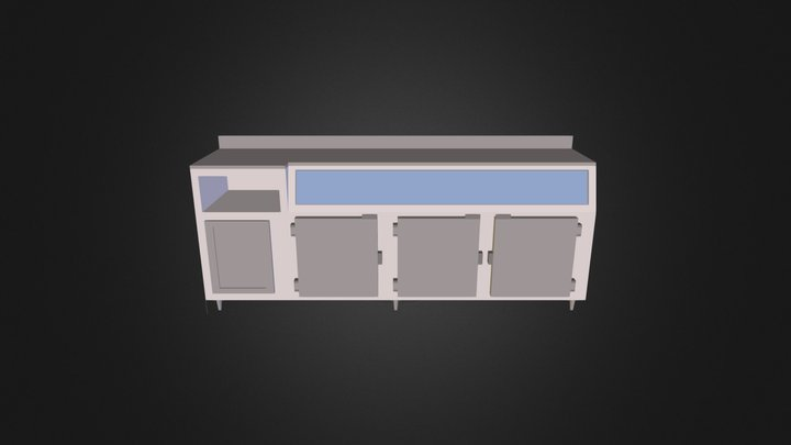 T 3D Model