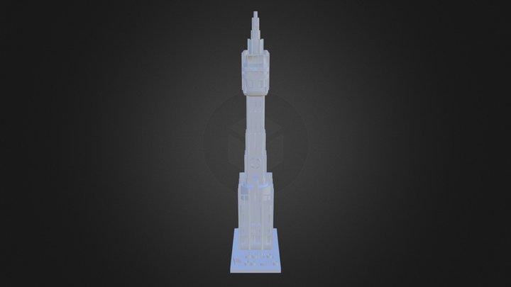 Beffroi De Lille 3D Model