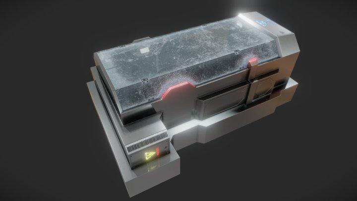 WhiteDwarf - CryoStasisPod 3D Model