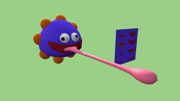 Gooey Kirby 3D Model
