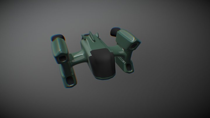 Spacecraft 3D Model
