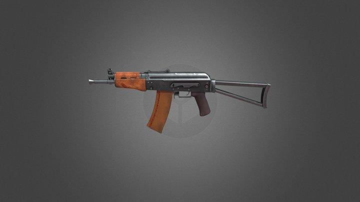 Ak 74u 3D Model