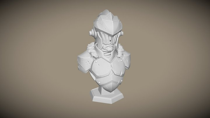 3D Printable Goblin Slayer Bust 3D Model