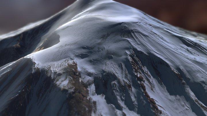 Mount Ararat, Turkey : Close-up 3D 360° 3D Model