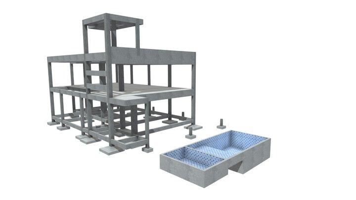 Projeto Residencial - Santo Amaro 3D Model