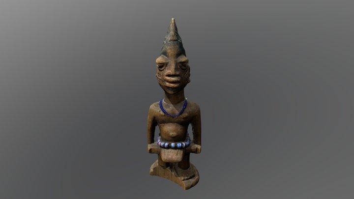 Ibeji Male Figure 3D Model