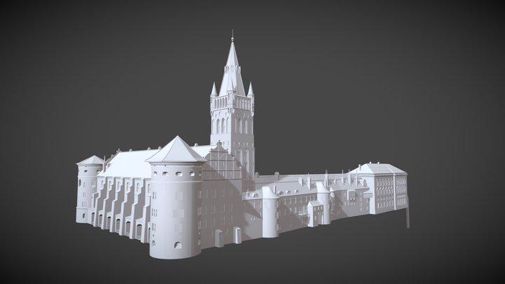 Königsberg Castle 3D Model