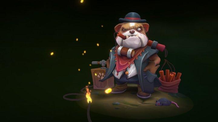 Boone the Outlaw - Artstation Challenge 3D Model