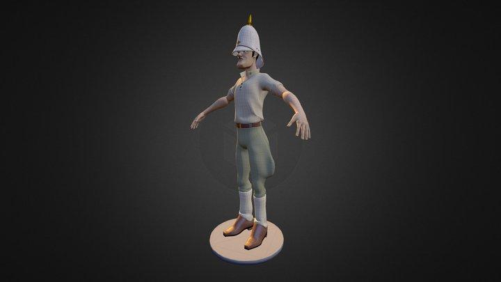 Mayor Grubert Moebius 3D Model
