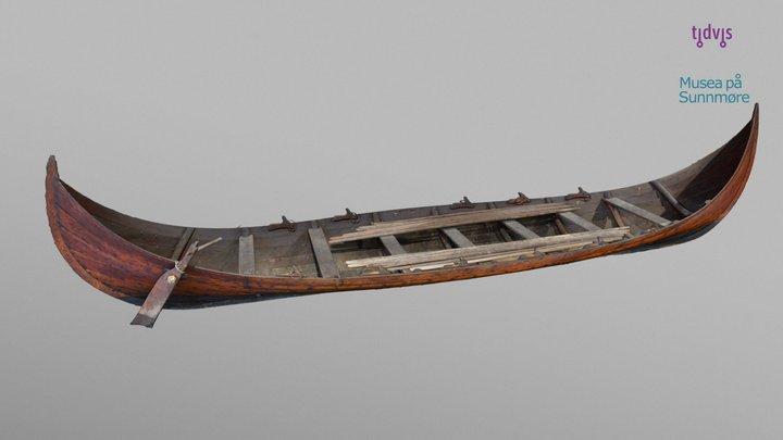 Store Fjørtoftbåten 3D Model