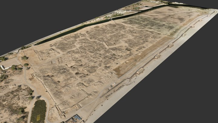 Al Baleed Archaeological Park 3D Model