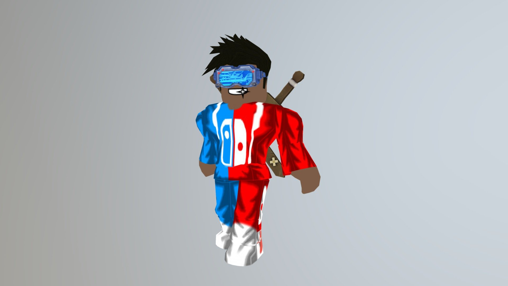 My Roblox Character Download Free 3d Model By The Rev Creeper