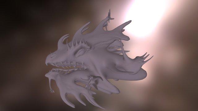 Dragon Head 1 3D Model