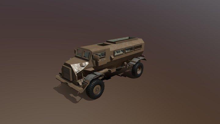 Casspir Mk2 (SADF) 3D Model