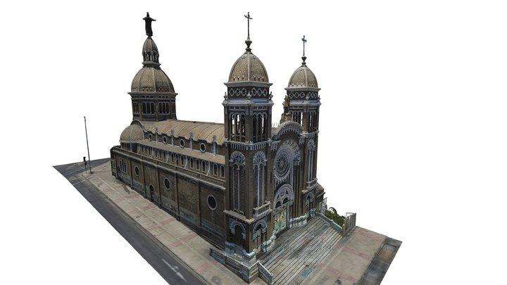 Basílica de Antofagasta, Chile 3D Model