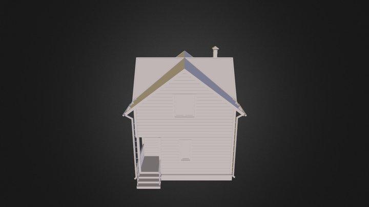 Banya 6х8 3D Model